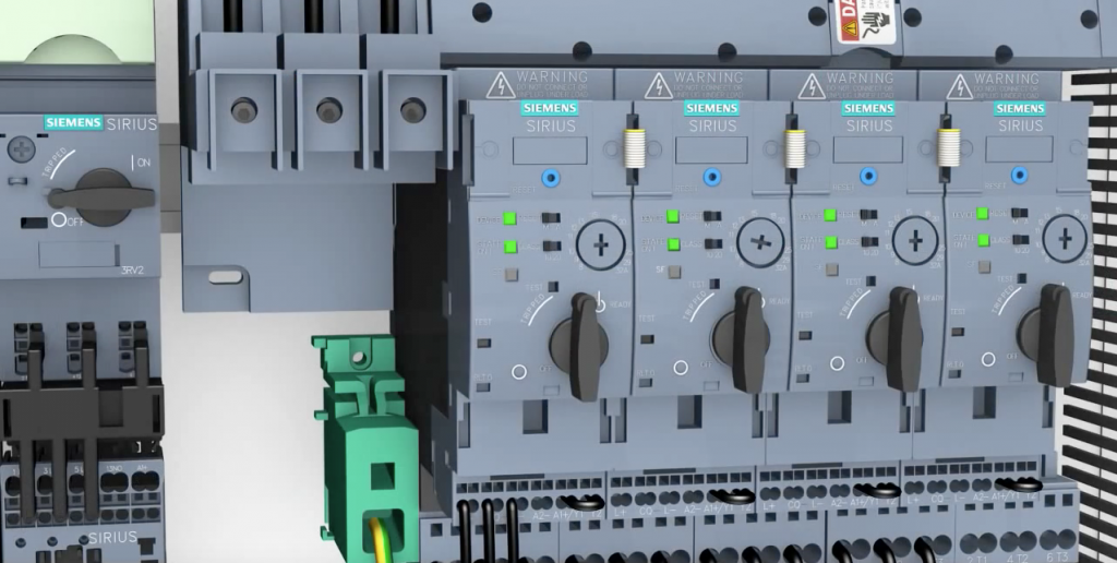 SIEMENS SIRIUS Innovations – compact assembly